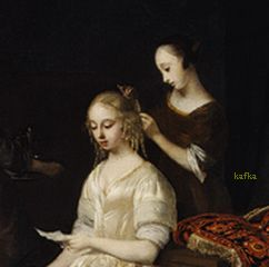 The Love Letter, ca. 1670 Jacob Ochtervelt (Dutch, 1634?1682)