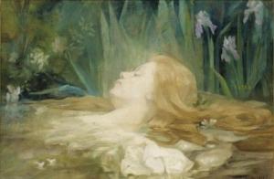 Marie Berthe Mouchel - Оphelia, Circa 1915
