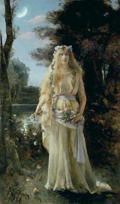 Alfred Stevens (Belgian, 1823-1906), Ophelia