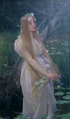 Lefebvre Jj Ophelia 1890