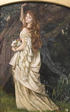 Ophelia 1865- Arthur Hughes