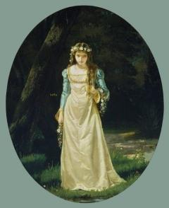Monogrammist T. E., Artist Ophelia Late 19th Century