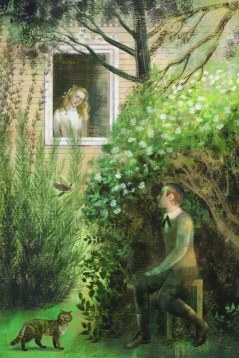 FIRST LOVE by I. Turgenev, The Folio Society illustrations by Anna and Elena Balbusso