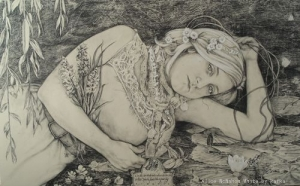 Rimbauds Ophelia by Alice McMahon White