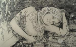 Rimbauds Ophelia by Alice McMahon White
