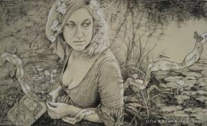 Ophelia Ophelia by Alice Mcmahon White