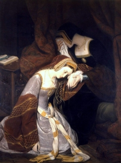 Anne Boleyn in the Tower by Edouard Cibot