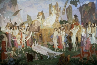 John Duncan  The Queen of Sheba 1923  British Museum