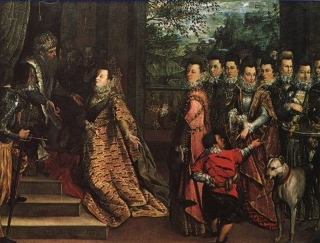 Lavinia Fontana 1552 - 1614: Visit of the Queen of Sheba