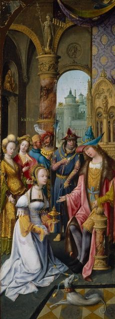 King Solomon Receiving the Queen of Sheba, 1515/20