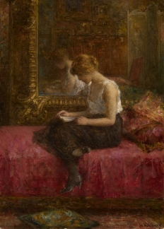 Alexej Harlamoff  Literary Pursuits of a Young Lady