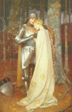 Aucassin et Nicolette by Marianne Stokes Jim Kolva and Pat Sullivan collection