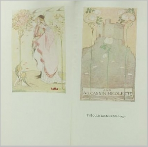 AUCASSIN & NICOLETTE - Bourdillon, F.W. Illus. by Cameron, Katharine & King, Jessie M.