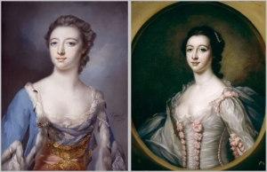 Elizabeth Gunning and Maria Gunning,National Portrait Gallery