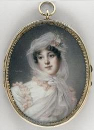Louise Antoinette Guéhéneuc by ISABEY Jean-Baptiste
