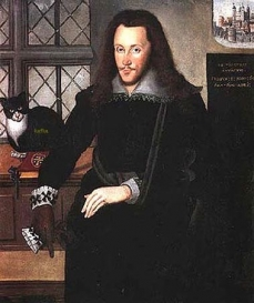 Henry Wriothesley, 3rd. Earl of Southampton. (1573 - 1603) Attributed to John de Critz (1555 - 1641), April - June 1603