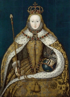Queen Elizabeth I  circa 1600 National Portrait Gallery, London