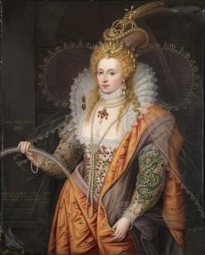 A fine and important enamel portrait of Queen Elizabeth I (1533 - 1603), The Rainbow Portrait  Bonhams