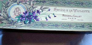 Roger & Gallet  violette  savon