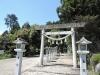 加佐登神社入口