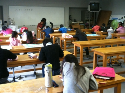 飯田市子ども美術学校2