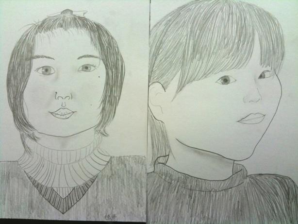 飯田市子ども自画像3
