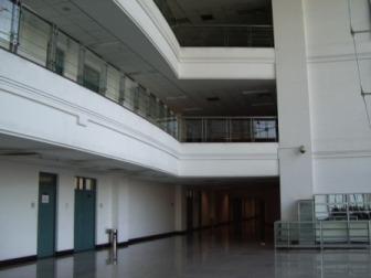 留学生教室廊下