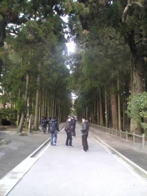 松島瑞巌寺参道