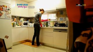 食器洗い中