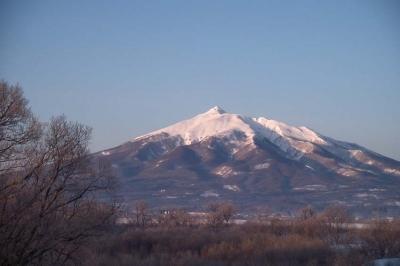 3月1日の岩木山