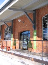旧駅舎のリノベーション