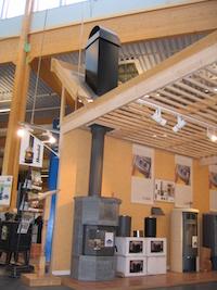 スウェーデンの建材センター