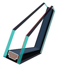 2層ガラスユニット