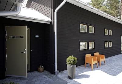 スウェーデンの玄関ドア