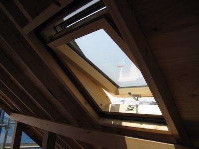 高断熱仕様の天窓