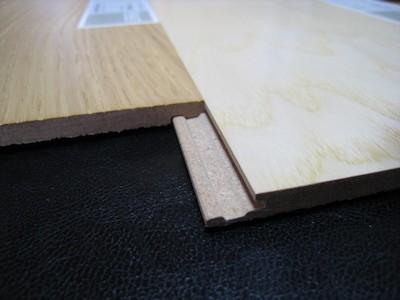 突板のフローリング