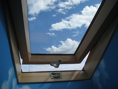 スウェーデンの天窓