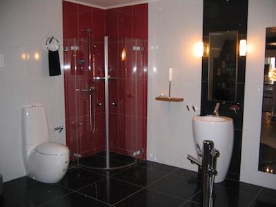 スウェーデンのバスルーム