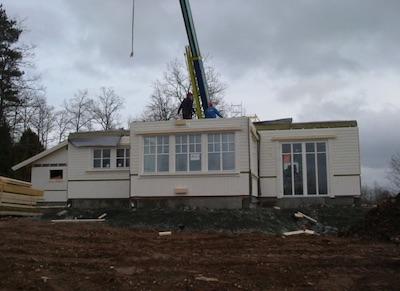 スウェーデン住宅の施工