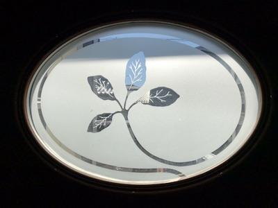 玄関ドア-デコールガラス