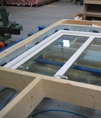 外壁ブロック-窓の取付