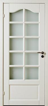 無垢の框ドア