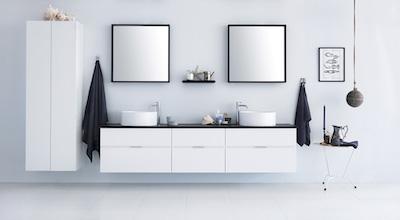スウェーデンの洗面台