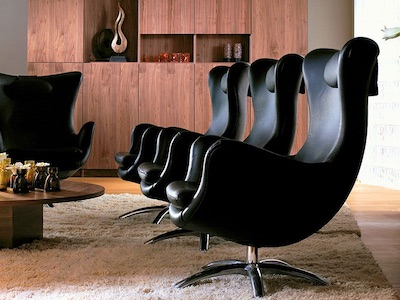 北欧家具のアームチェアー