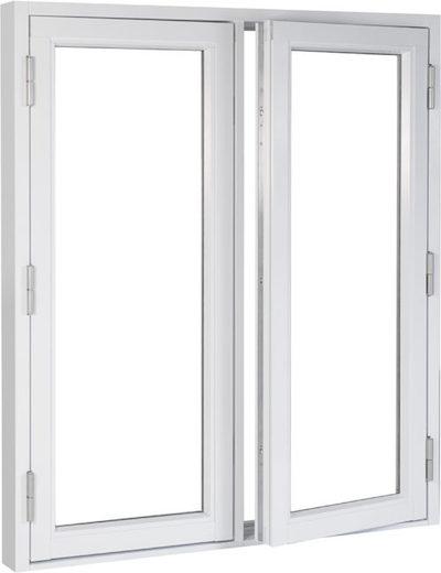 2層ガラス木製窓
