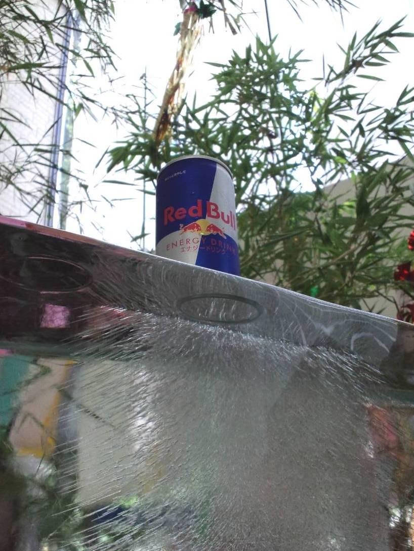 赤牛on氷