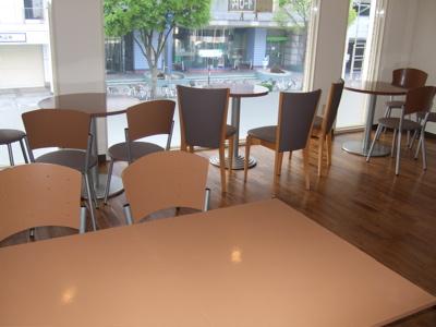 cafe 店内