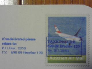 Austrian Air Mail