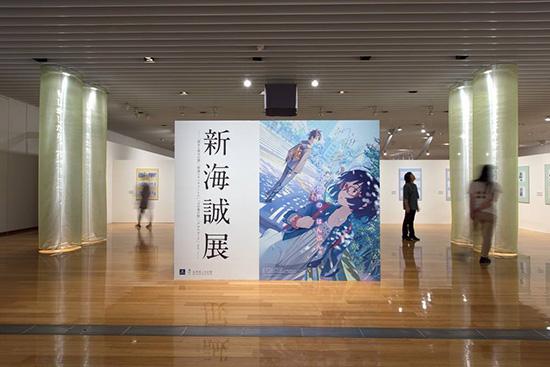新海誠展 会場写真