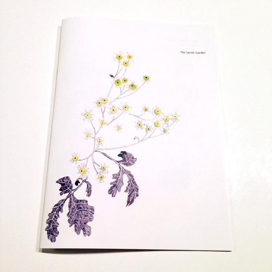 [The Secret Garden] 小冊子